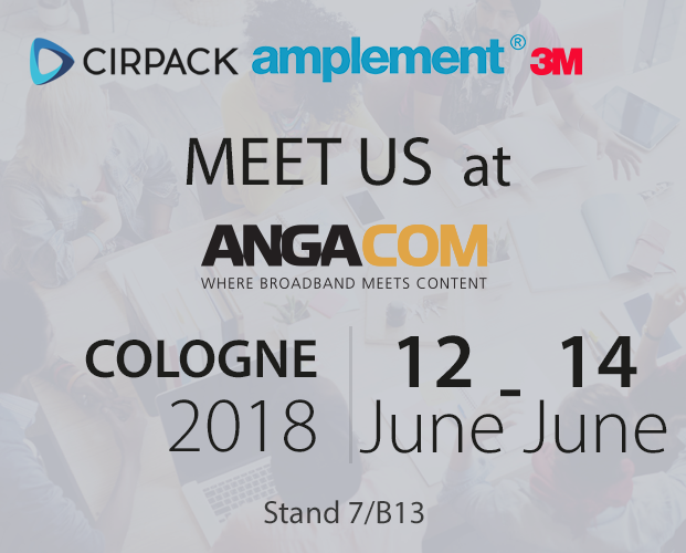 Cirpack at ANGA COM 2018 in Germany