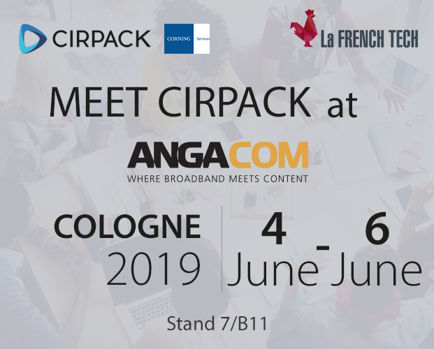 Cirpack at ANGA COM 2019 in Germany